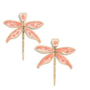 NWT Articulated Dragonfly Tory Burch Earrings